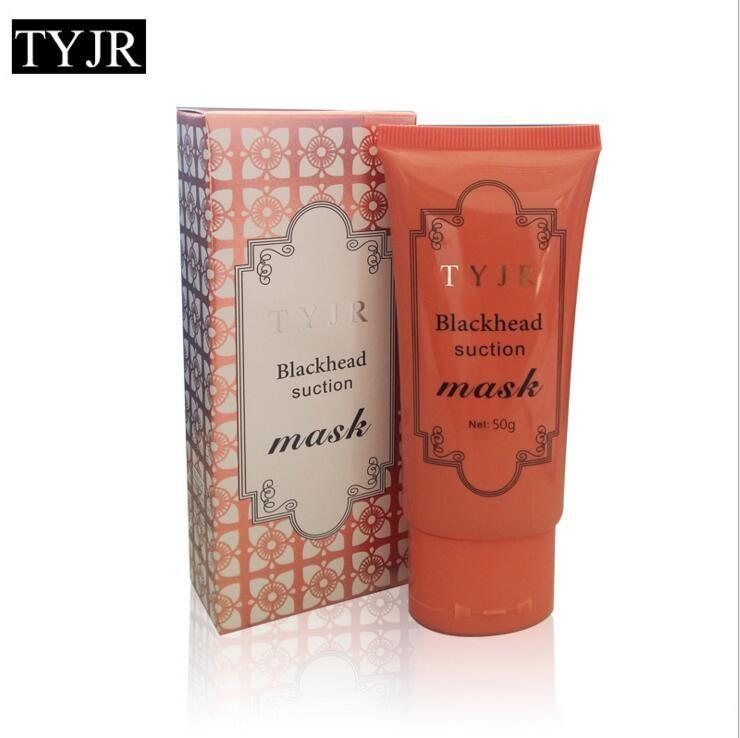 TYJR Black Mask Deep Cleansing Peel Off Face Skin Care Oil Control Pore Cleaner Mask Remover Blackhead Suction Facial Masks 50g