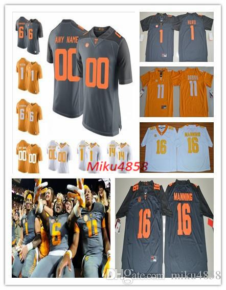 info for 7fad0 80de6 Mens Children's Custom Tennessee Volunteers College Football Jerseys  stitched NCAA Tennessee Volunteers Personal Limited Football Jersey
