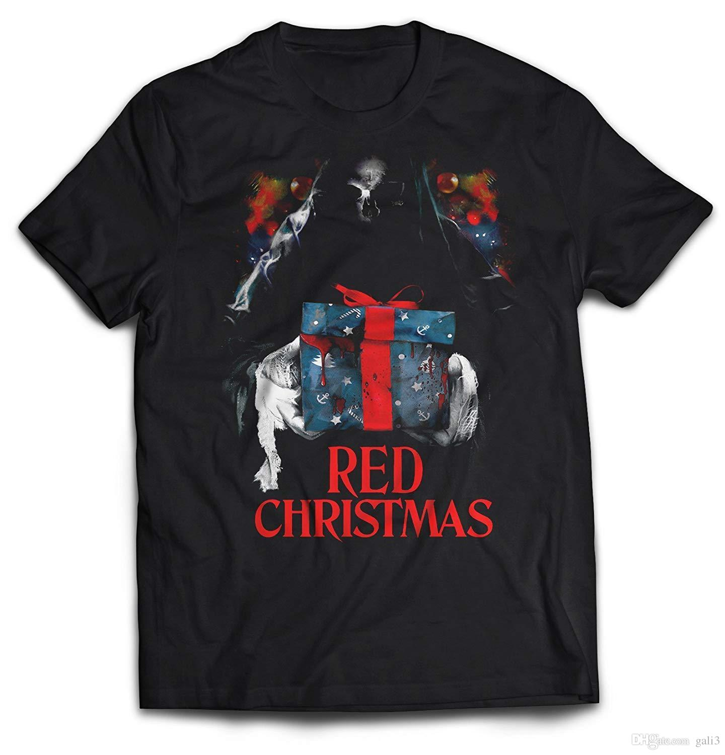 a65c2fb5cd7 Death Is Coming Red Christmas T Shirt Summer Style Funny T Shirts Vintage T  Shirts Sale From Gali3