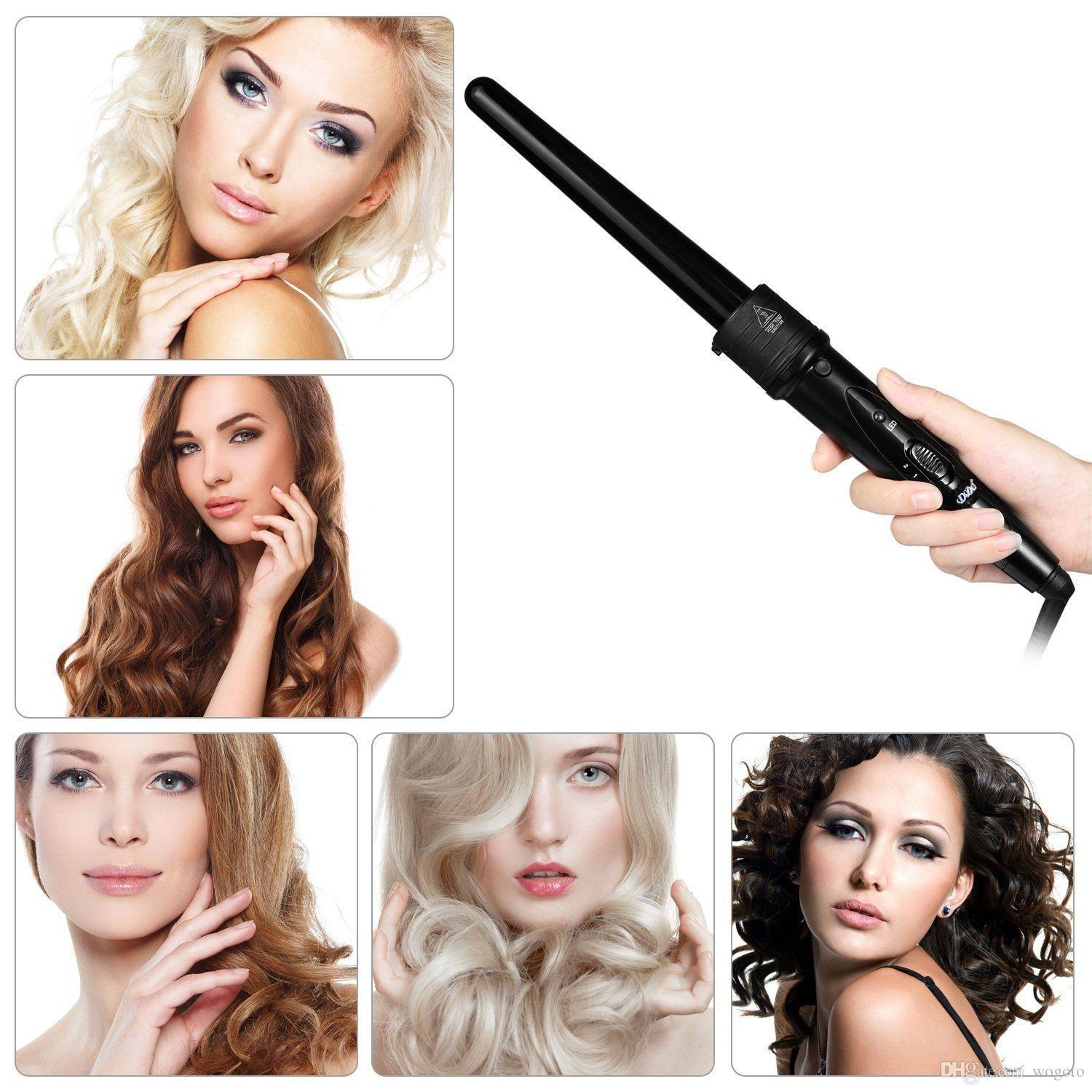 dodo 5 in 1 hair curlers styling curling wand hair curler hair iron
