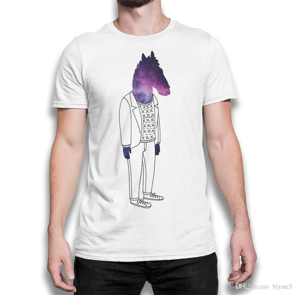 Men's Clothing Analytical Bojack Horseman Funny Cartoon T Shirts Man Short Sleeve Fashion Print Summer Casual Unisex T-shirt For Man/woman Hcp4531