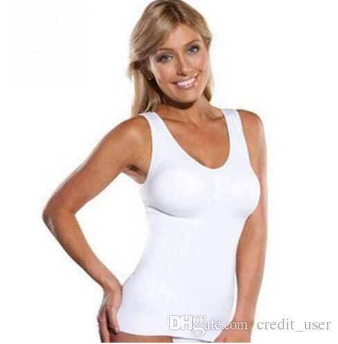b089d66bbe Hot Shaper Slim Up Lift Plus Size Bra Cami Tank Top Women Body ...