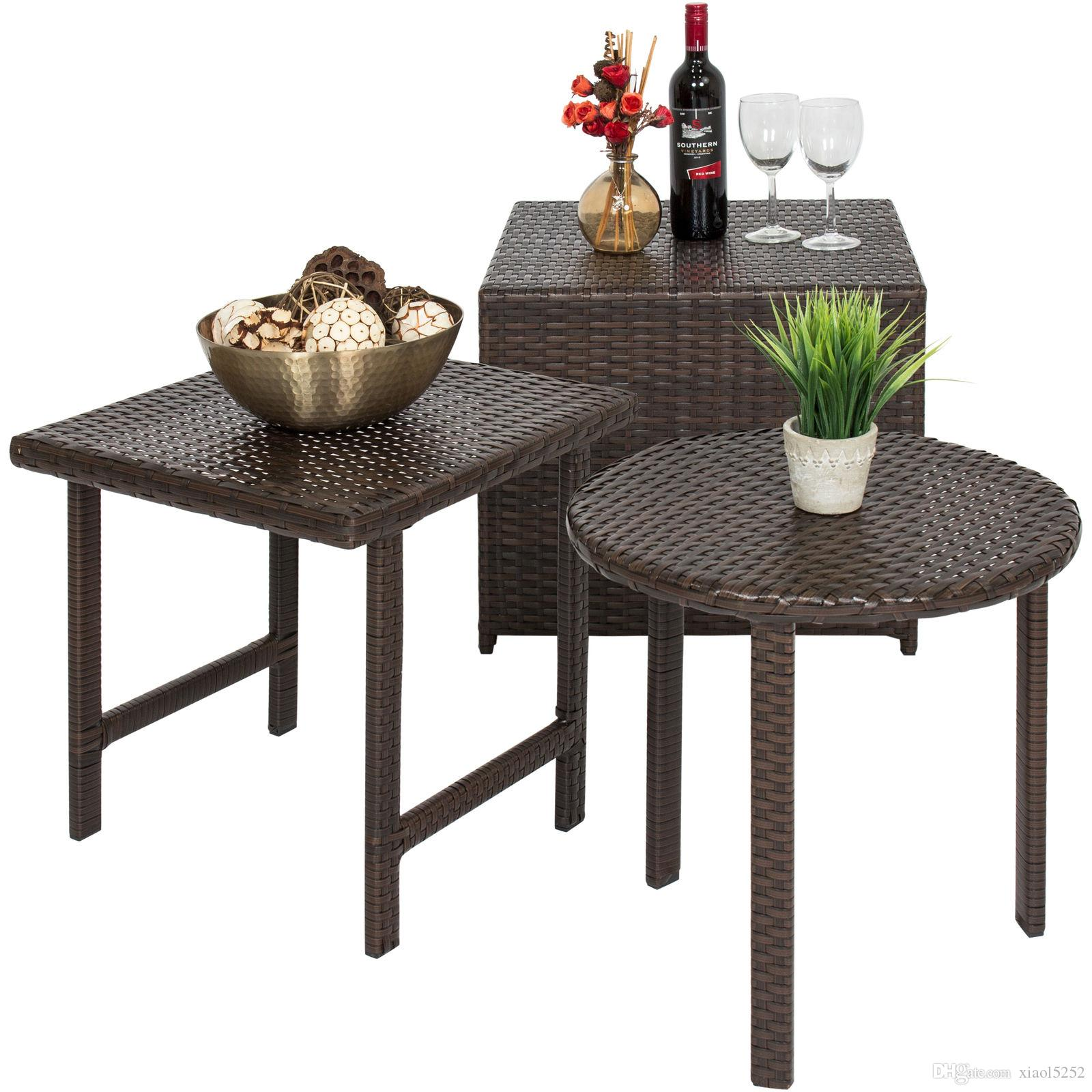 Best choice products outdoor patio furniture wicker table set uk 2019 from xiaol5252 uk 88 45 dhgate uk