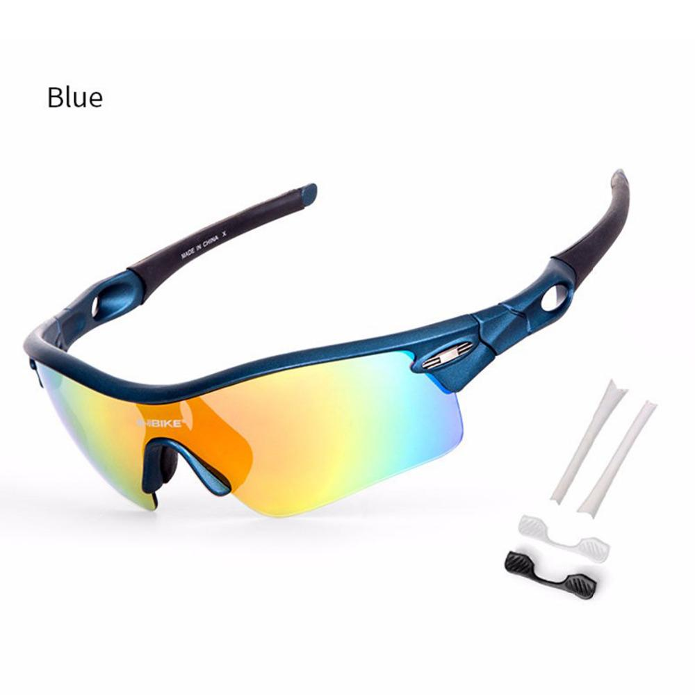 a487f94ff6f Bike Glasses Cycling Eyewear 5 Lens Detachable UV400 Goggles Bicycle ...