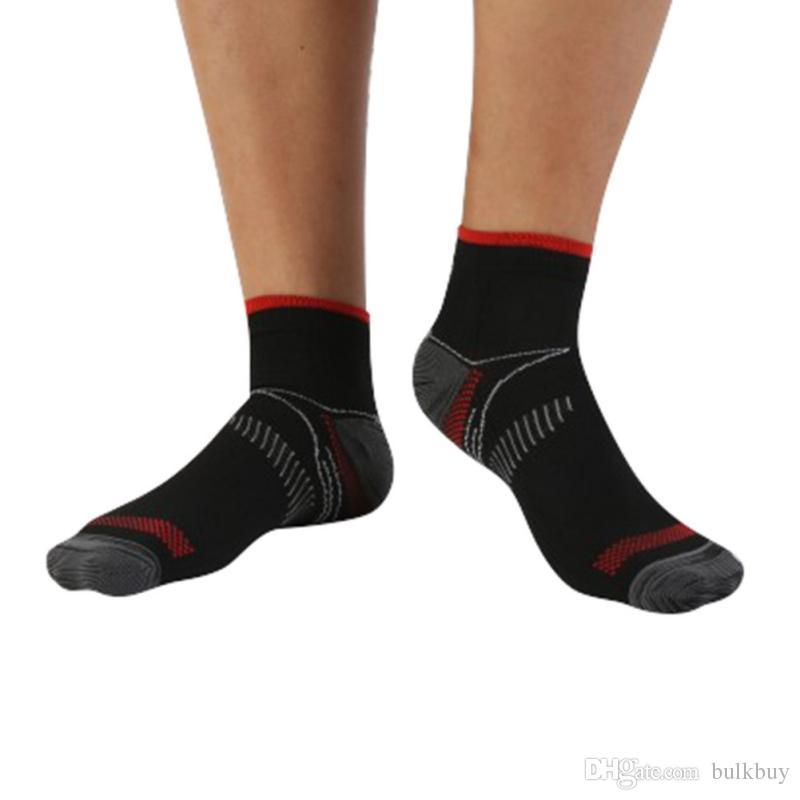النساء الرجال الجوارب الرياضية ضغط ل مصنع فاسكيت كعب قوس تخفيف الألم الجوارب التخييم المشي جورب
