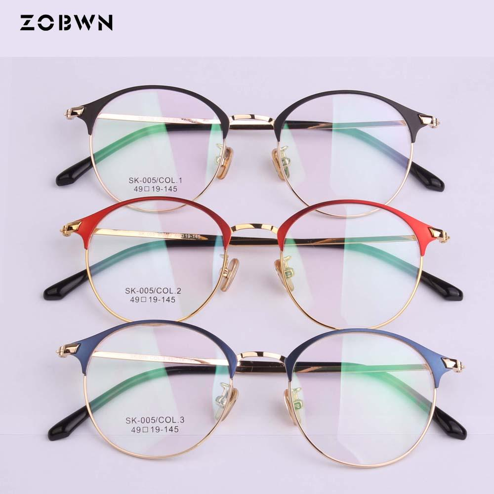 24d806d4593f 2019 Mix Wholesale Promotion Eyeglasses Manufacture Beautiful Women Metal Glasses  Frames Optical Spectacle Myopic EyeGlasses Frame From Kwind