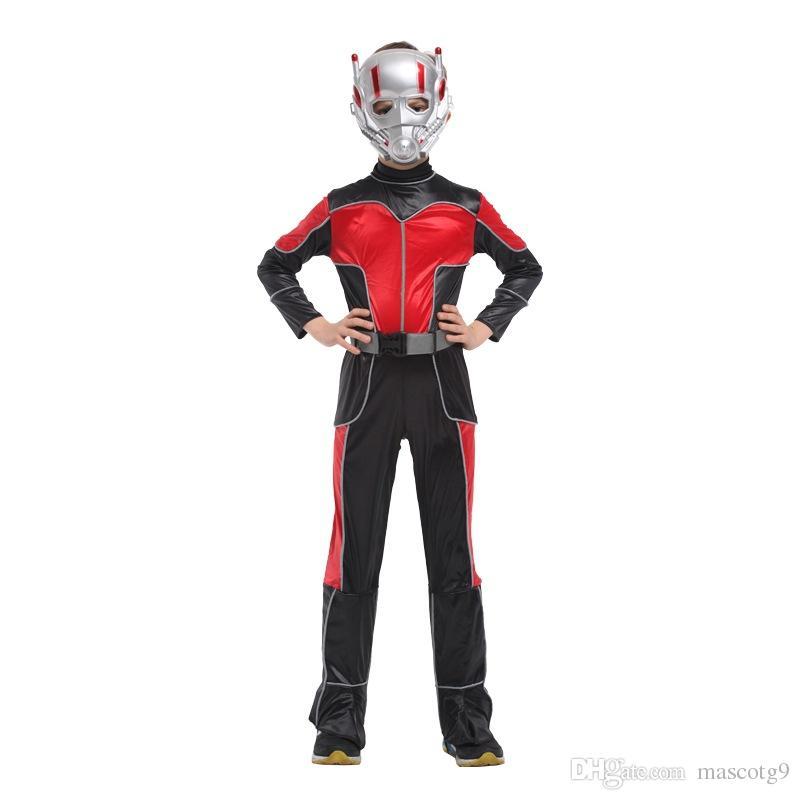 Großhandel Disfraces Halloween Karneval Ant Man Kostüm Cosplay Film