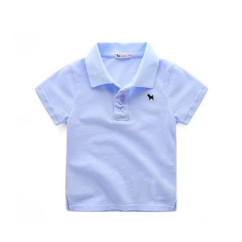 dcbde4fd0 2019 Children Summer Polo Shirt Cotton Toddler Boys Polo Shirt 2017 Short  Sleeve Boys Clothes Kids Polo Children Clothing Boys Polos From Yuan0907,  ...
