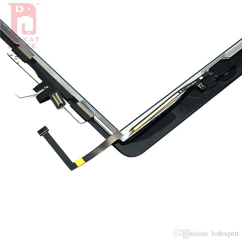 Für iPad air 1 Für ipad 5 Digitizer Screen Touchscreens Glas mit Home Button Klebstoff Kleber Aufkleber Ersatzteile A1474 A1475