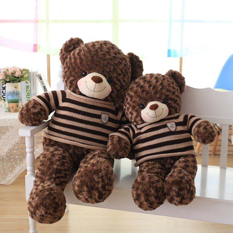 2018 60cm 80cm high quality teddy bear plush toy huge kids toy big 60cm 80cm high quality teddy bear plush toyg publicscrutiny Gallery