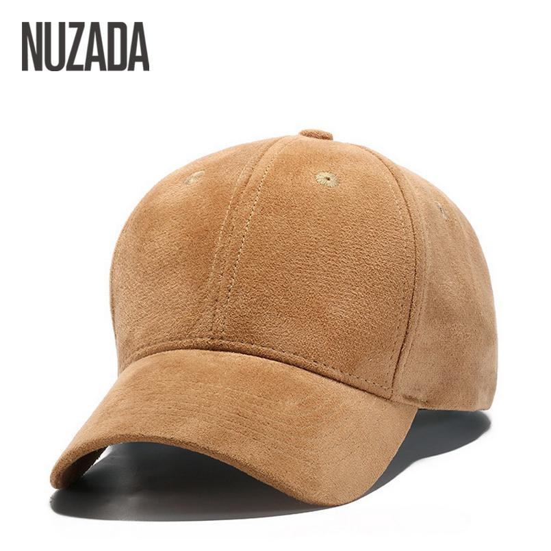 93b204c705fe6 Brand NUZADA Winter Autumn Thickening Suede Fabric Men Women Baseball Caps  High Grade Cotton Hip Hop Cap Hats Bone Snapback Fitted Hats Baseball Hats  From ...