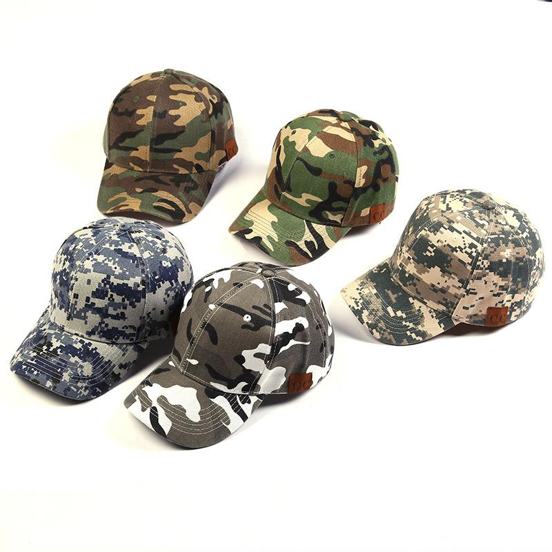 8872cc73 Camo Army Cap Snapback Hats Camouflage Light Board Spell Color Cap Hip-hop  Brimmed Hat Hat Baseball Cap Camouflage Hats