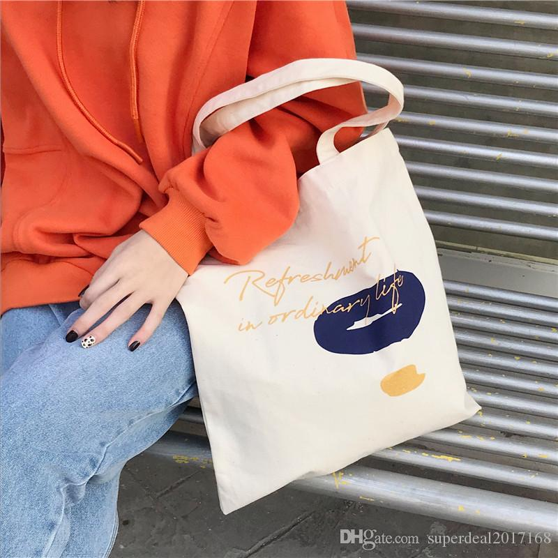 Large Reusable Grocery Women Tote Bag Eco Big Foldable Shopping Bags ... 0e81933531897