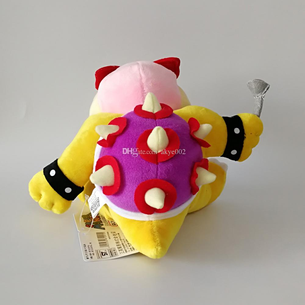 "Hot Sale 8"" 20cm Super Mario Bro Koopaling Roy Koopa Plush Toys Stuffed Soft Toys For Child Gifts"