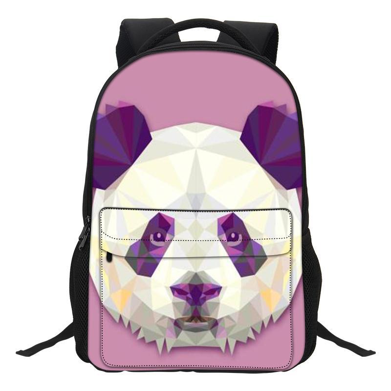 bf2cec24b5 VEEVANV Cartoon Girls Bookbags Casual Shoulder Bags Funny Animal ...