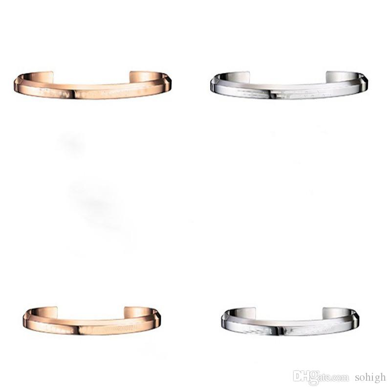 db5e27aa1f9 Dropshipping New DW Bracelet Cuff Rose Gold and Silver Bangle Bracelet for  Women and Men NO Original package + certificate