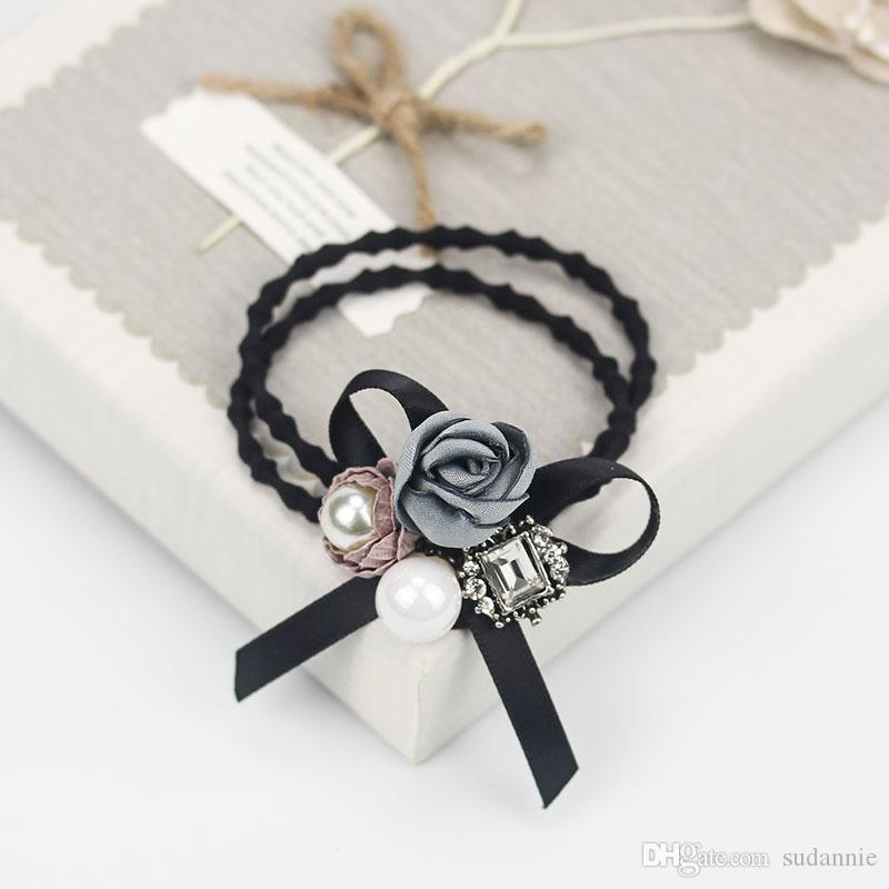 i-Remiel Butterfly Flower Hair Clips Hair Bands For Girls Plastic Headband Headband Women Hair Accessories