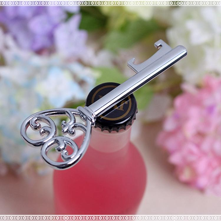 Bottle opener victorian wine bottle opener Barware Tool wedding Party favor gift Silver With White Retail Box