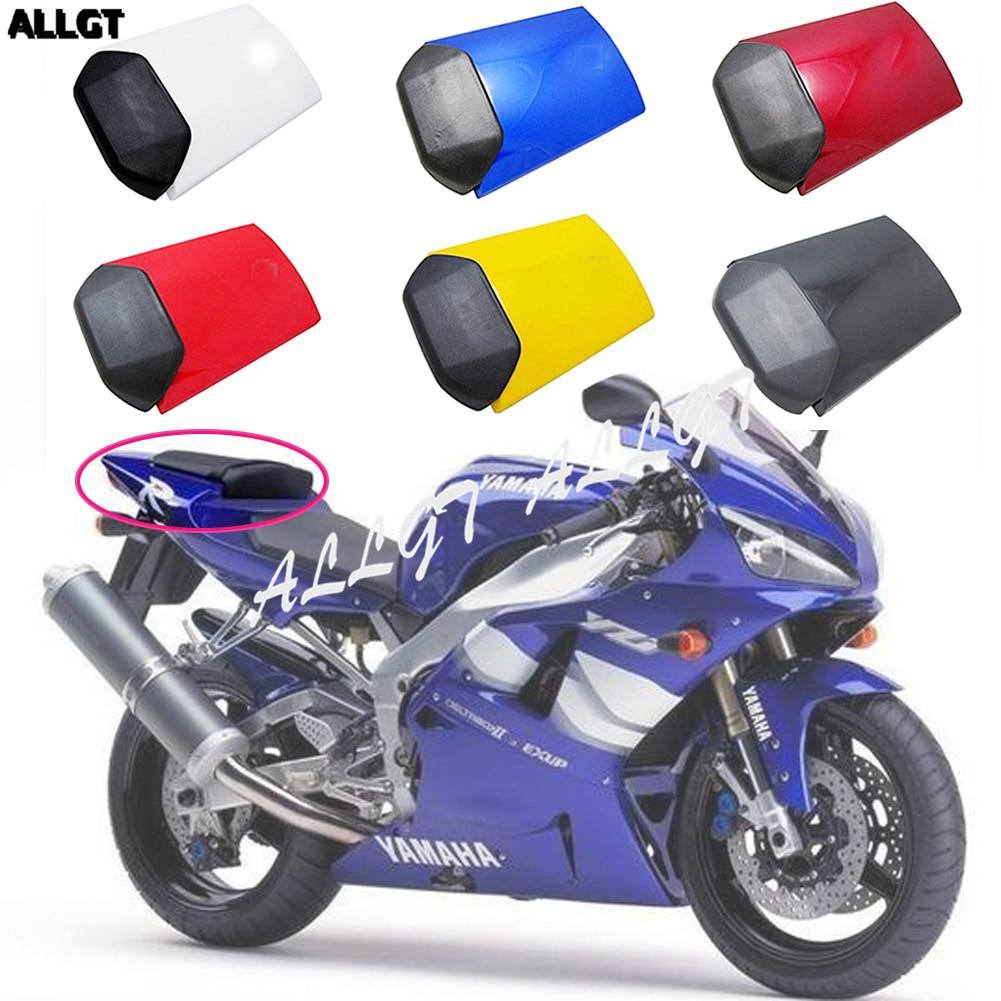 Motorcycle Pillion Rear Seat Cover Cowl Abs Tail Fairing For Yamaha Yzf R1 1998 1999 98 99 6 Colors Available