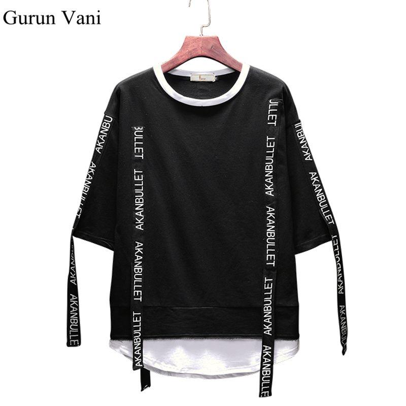 Acquista 2018 Nuovo Stile Hip Hop T Shirt Ampia T Shirt Lunga Da Uomo  Design T Shirt Da Uomo T Shirt Da Uomo Tee Moda Maschile Large Size 5XL A   22.06 Dal ... ff103b0c8e9f
