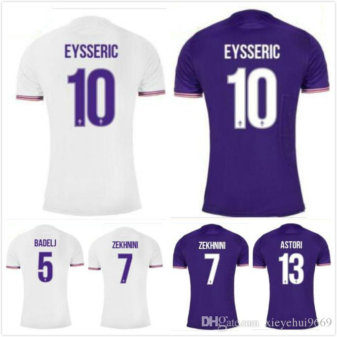 52fd94604 2017 2018 ACF Fiorentina Home Soccer Jerseys Custom Name Number Kalinic 9  Fans Top Aaa Quality Soccer Uniforms Football Jersey UK 2019 From  Xieyehui9669