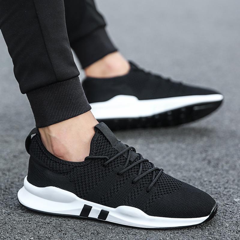 9fedae9cdd Compre Sapatos Casuais Dos Homens Novos Moda Confortável Homens Sapatilha  Sapatos Primavera Respirável Fora Masculino Andando Tamanho Grande De  Haikee