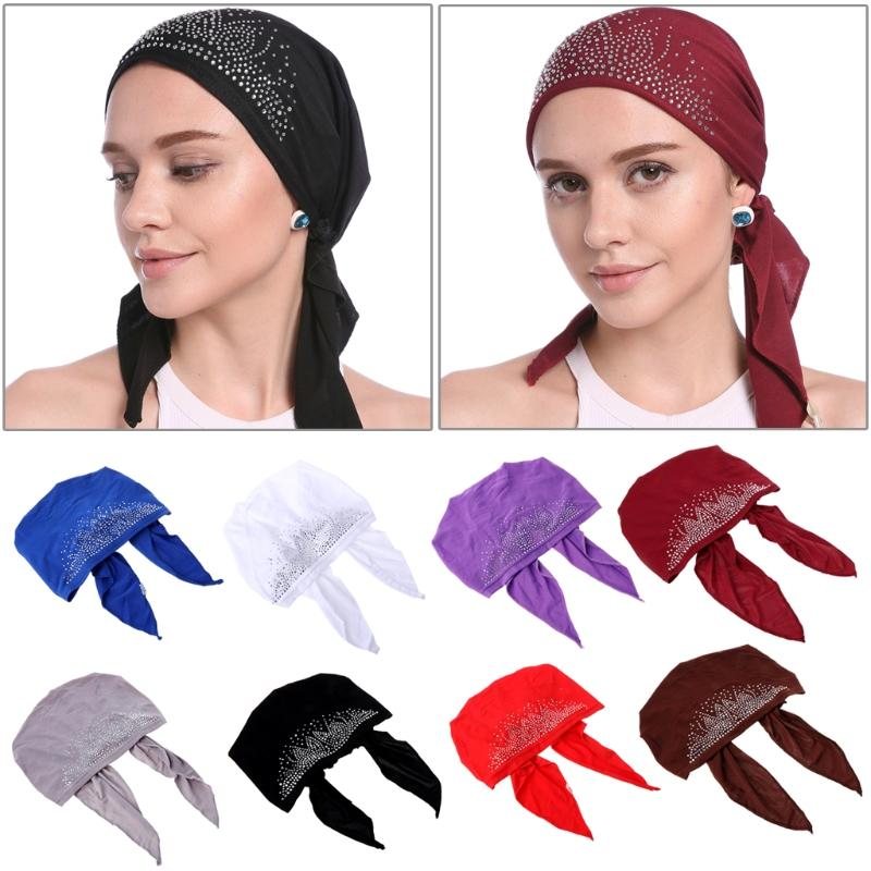 2019 Fashion Muslim Women Lady Inner Hijab Cap Islamic Underscarf Headwear  Hats Gift F05 From Keviny 16faa44a200