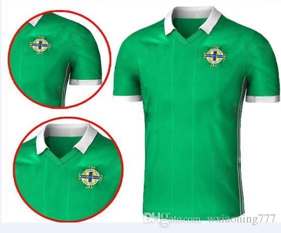 2019 Northern Ireland Soccer Jerseys 2018 World Cup Home Green DEL NORTE Tuaisceart  Eireann McNAIR K.LAFFERTY DAVIS Football Shirts Away Jersey From ... 7264b4e9d