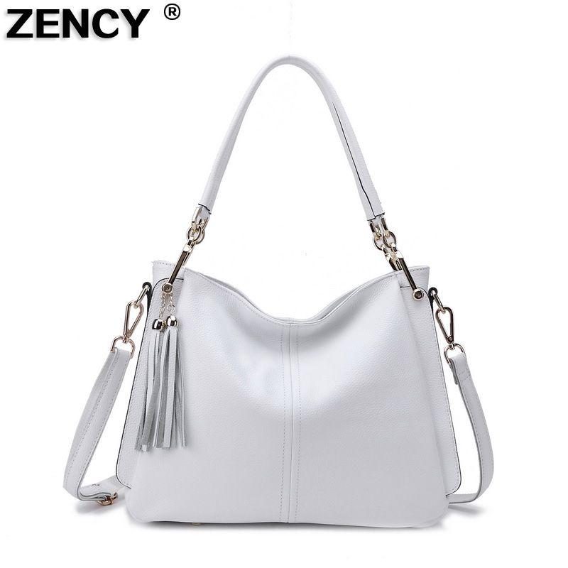 46a69cd66c1ba1 100% Genuine Leather Luxury Brand Women's Shoulder Bags Ladies Shopping  Handbags Female Messenger Bag Real Leather Purse Satchel Handbags On Sale  Leather ...