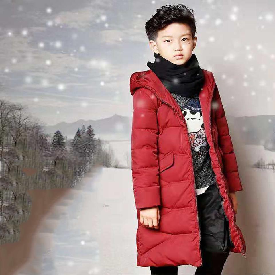 c29371458 Niños Niños Ropa de abrigo Chicos de algodón Abrigos con capucha Abrigo  grueso de invierno Ropa de invierno para niños Parkas por 6-14 años