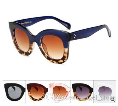 27e99dc787c Vintage Women S Sunglasses Design Brand Fashion Cat Eye Female Oversized  Sunglasses Driving Mirror Eyewear 6856 Bolle Sunglasses Electric Sunglasses  From ...