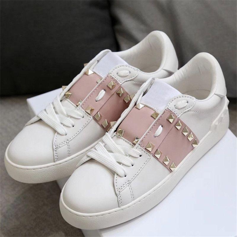 Compre 5A Diseñador De Los Hombres Zapatos Moda Diseñador De Lujo Mujeres  Zapatos Casuales Marca Blanca Zapato Nuevo Mujer Deportes Al Aire Libre  Zapato ... 6c3d3ccb035b