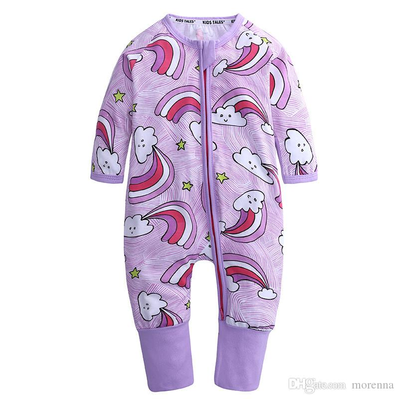 cfbd146ac 2018 Baby Clothes Baby Girl Onesies Autumn Newborn Clothes Cotton ...