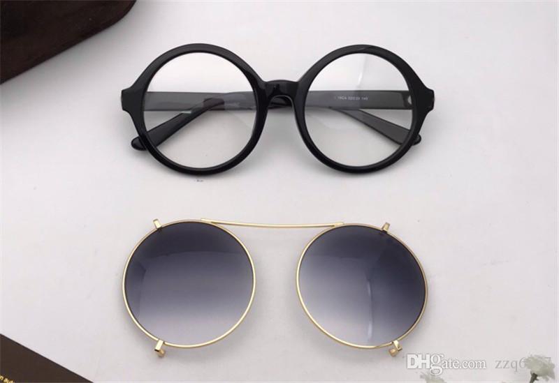 13f63c684856 2018 New Fashion Designer Sunglasses 5461 Round Frame Optical ...