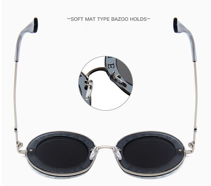 Le più nuove 2018 Bees GG House Of Holland Lettera Uomo Occhiali da sole Donna Retro Round Eyewear da donna UV400 Goggles