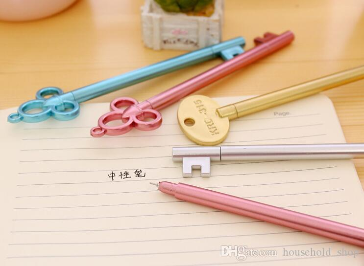 Key Pen Gel Pen Novelty Kawaii School Supplies Office Stationary Photo  Album Kawaii Pens School Stationery Fountain Pens Online Buy Fountain Pen  From ...