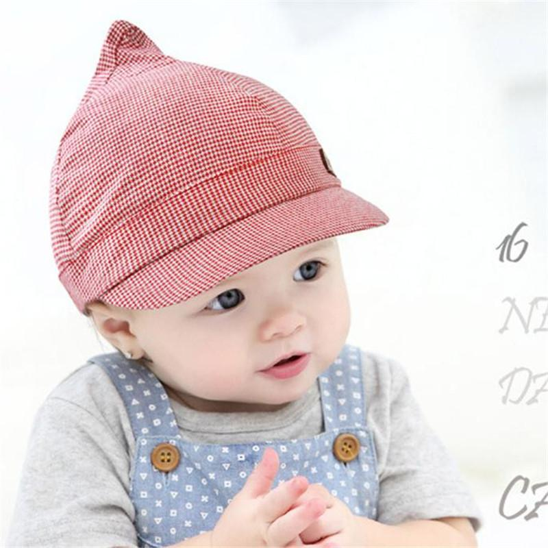 51f440c10 TELOTUN 20Baby Boy Girl Autumn Hats Children Baseball Caps Kids Peaked  Beret Hats Infant Lovely Children's BPeake ju 14-18