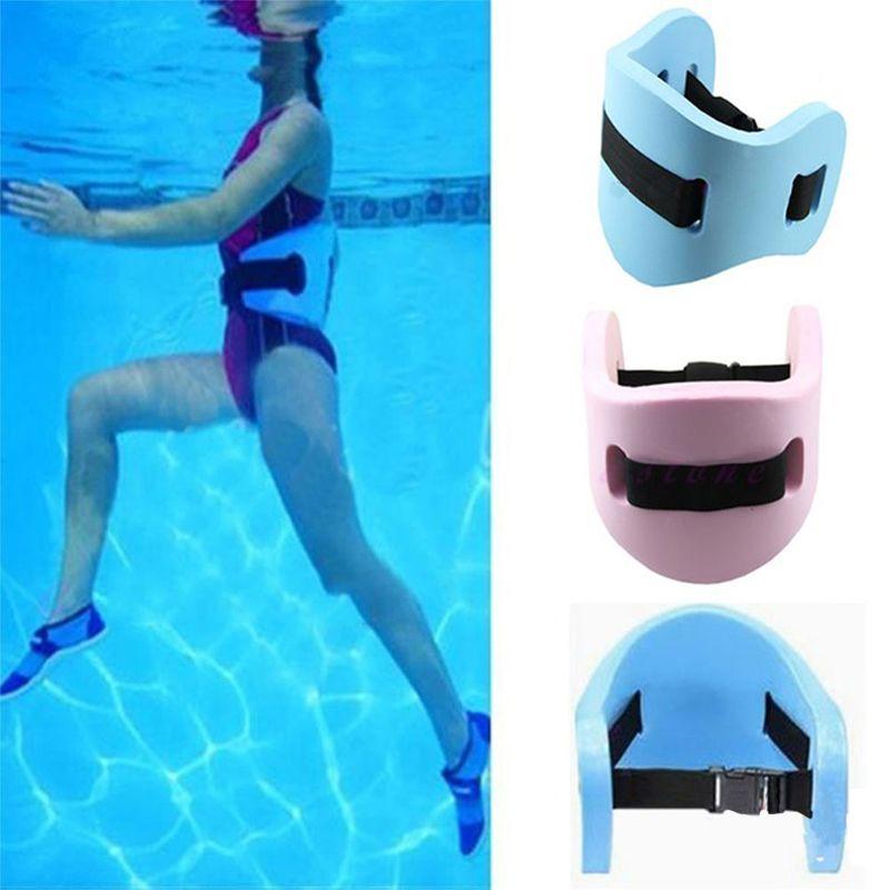 Swim Floating Belt Kids Adult Safety Swimming Leaning Training Float Equipment Waterproof EVA Water Aerobics Belt Waistband Swim Accessories