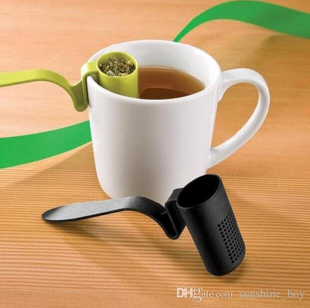 freies Verschiffen / clip-on Teesieb infuser Filtersieb sortiert Der Rand der Schale Sieb Das Teesieb Teefilter Isola