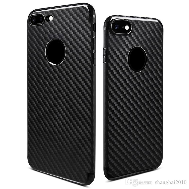 For iPhone 7 Plus Soft TPU Back Cover Case Rugged Gel Protector Case For iPhone 6 iPhone 7 with OPP Package