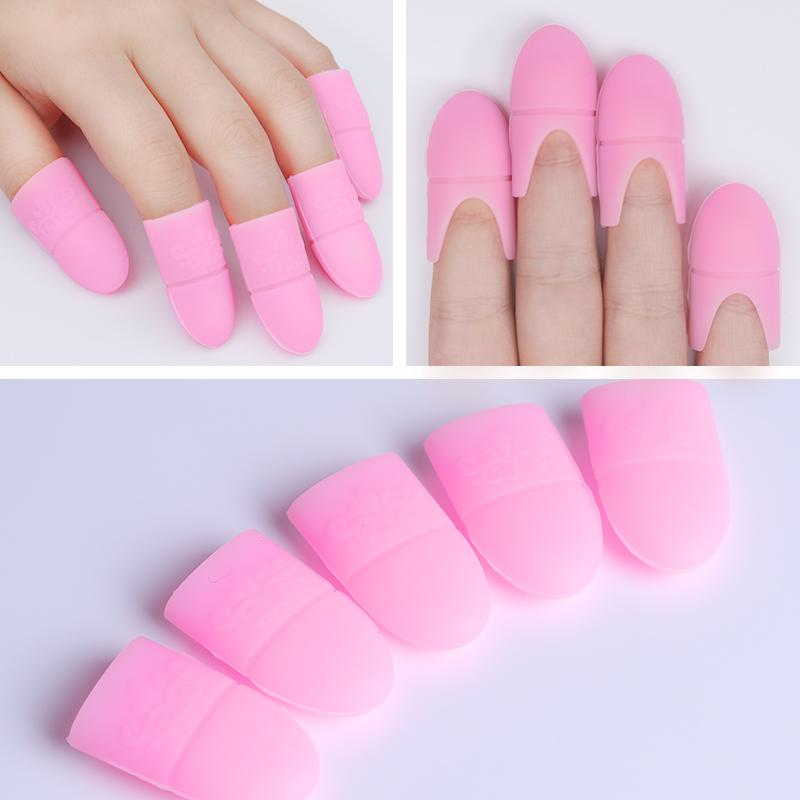 Silicone Nail Uv Gel Polish Remover Wraps Kits Available Soak Off ...