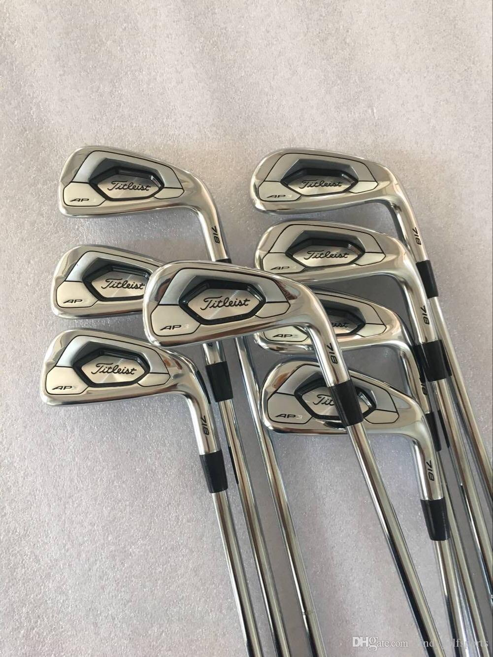 Fast Shipping TOP Quality AP3 718 Golf Irons 3-9P Free HeadCovers 9 Kind  Shaft Steel/Graphite Regular/Stiff