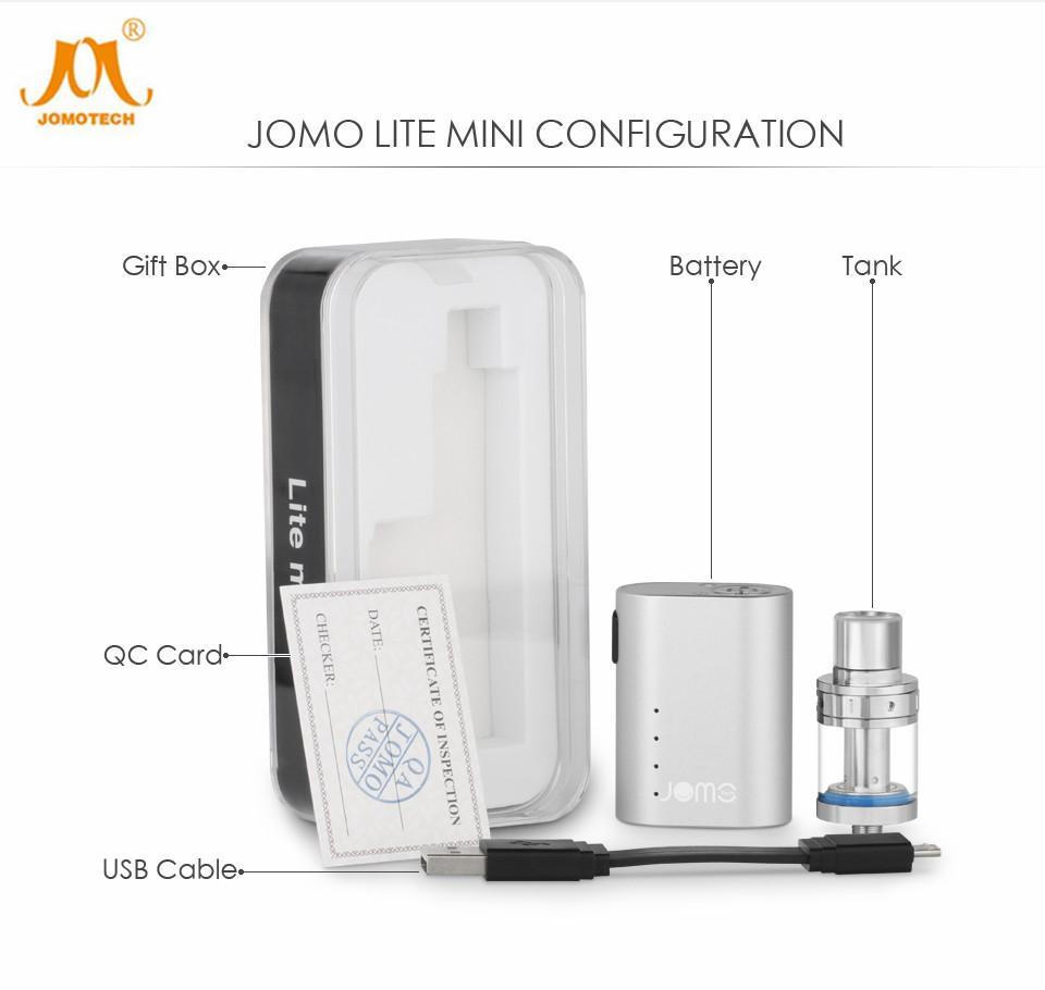 Original Jomotech Kit Lite Mini Vape Mod Lite 35w 0.5ohm Electronic  Cigarette Jomo 111 Box Mod Vape Kits Vaporizer Tank 900mah Best E Cigarette  Starter Kit ...