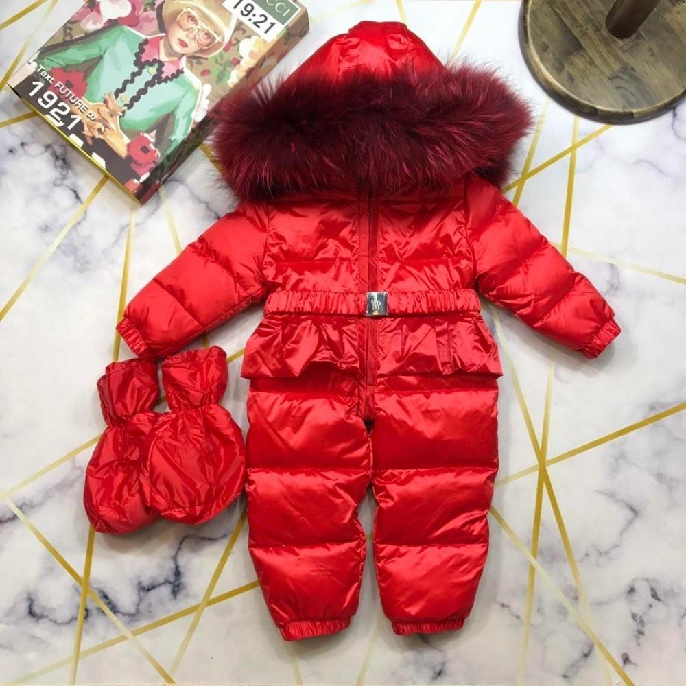 064d562a637c Newborn Baby Girls Clothing Winter Boy Rompers Infant Clothes Duck ...
