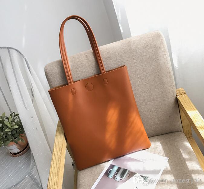 3bf82ebb0443b New korean version of soft leather tote bag students wild jpg 675x624 Soft  leather tote bag
