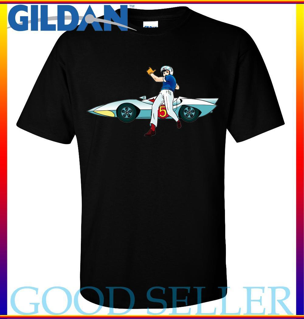 Speed Racer Comic Vintage T-shirt S-2XL