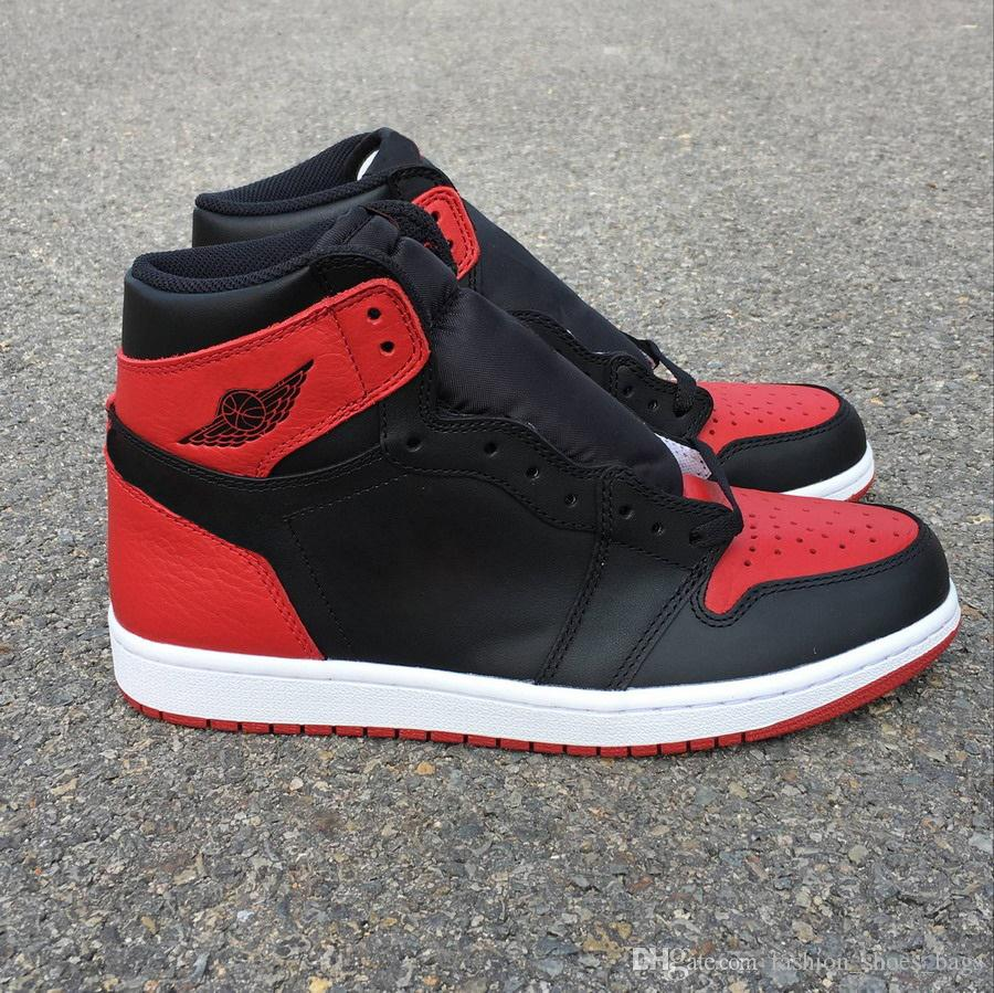 New Hydro I 1 High OG Banned Black Red Basketball Shoes Designer Mens Women  Shoes Quality 1s Sneakers Shoes Fashion With Double Box Best Basketball  Shoes ... 663e9373a