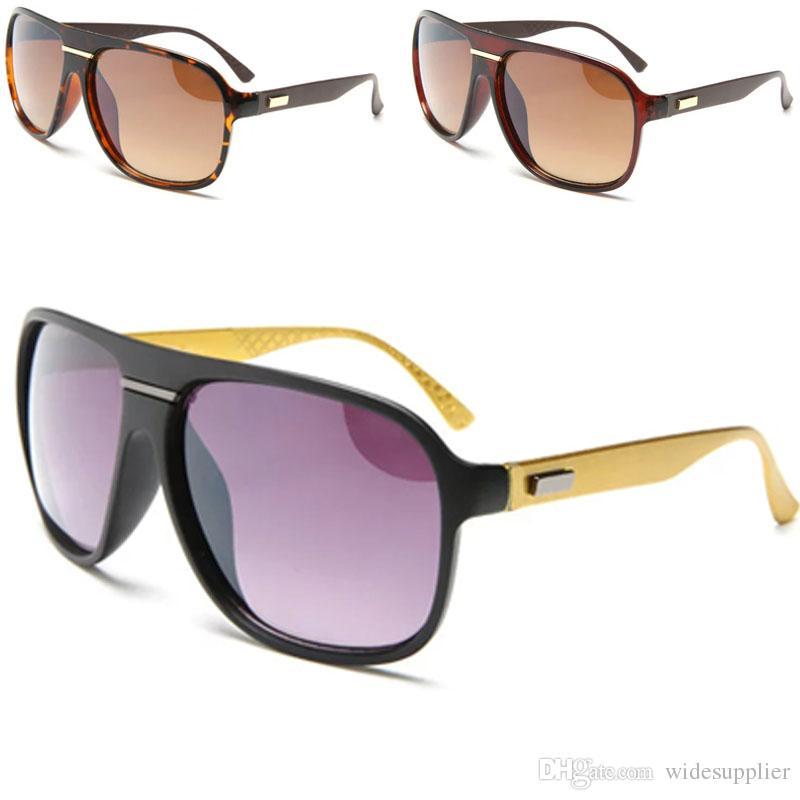 ec0f58360a3 Fashion Sunglasses Men And Women Classic Big Frame Sun Glasses 100 ...