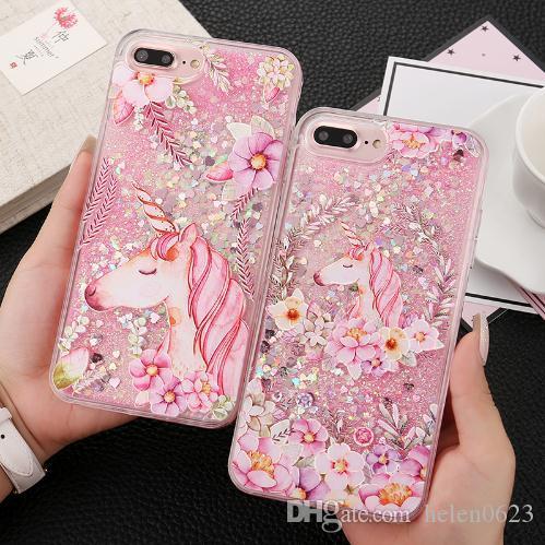 coque iphone 7 fille licorne