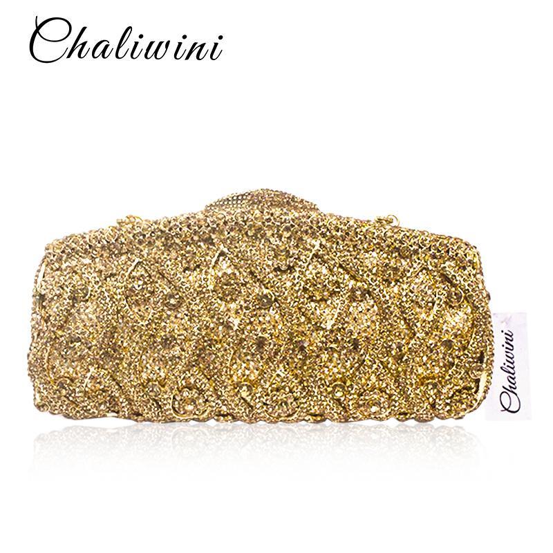 8aca5c06f62ac Satın Al Kadınlar Çiçek Hollow Out Şeftali Şampanya Kristal Rhinestone  Akşam Debriyaj Çanta Düğün Gelin Metal Çanta Kavramalar, $84.0 |  DHgate.Com'da